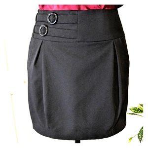 Sele black mini skirt